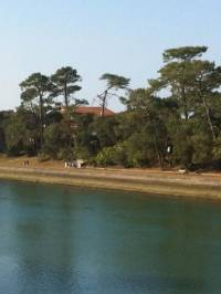 Hossegor real estate land for sale in Hossegor view on the water