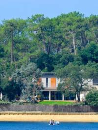 luxury house for sale in hossegor with views on the lake
