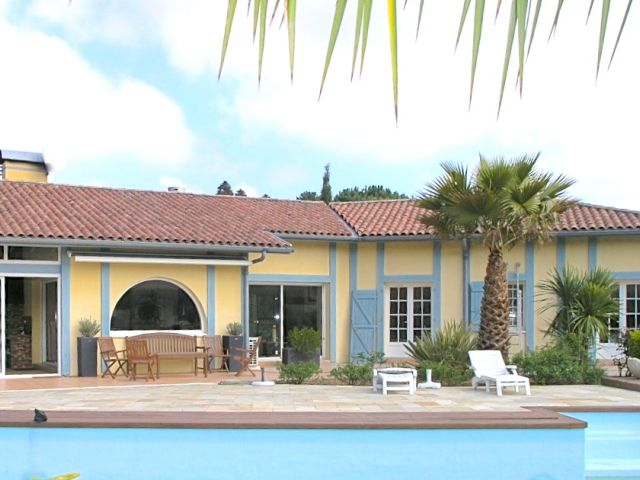hossegor villa de luxe a vendre landes pays basque immobilier - photo 11