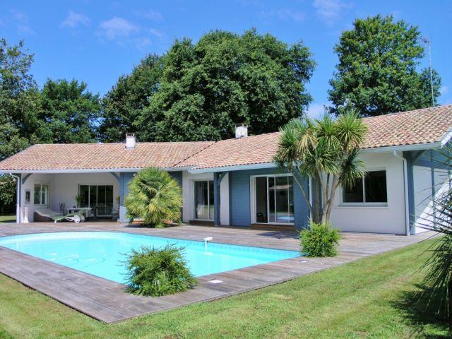 Maison a vendre seignosse hossegor capbreton immobilier grand terrain lande - Maison a vendre hossegor particulier ...