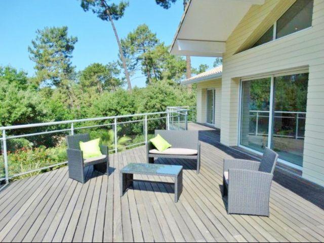 Maison de luxe a vendre hossegor aquitaine landes immobilier hossegor - Maison a vendre hossegor particulier ...