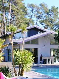 modern house for sale hossegor biarritz golf surf