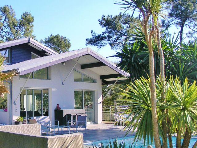 Maison moderne a vendre hossegor landes pays basque golf surf ...