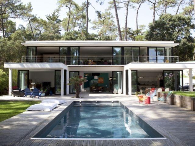 Villa a vendre hossegor entre lac et mer luxe hossegor for Constructeur piscine 17